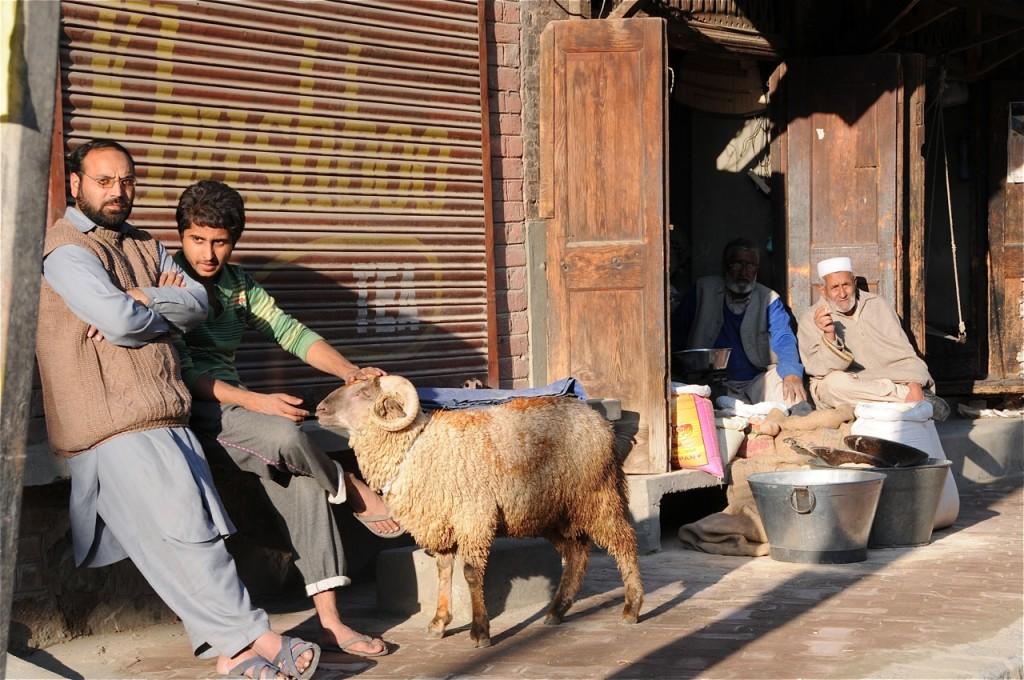 Srinagar prépare la fête de l'Aïd