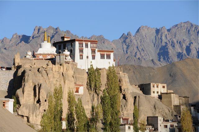 temple bouddhiste au ladakh