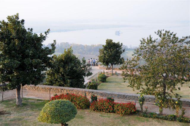 I giardini risalgono al periodo moghul