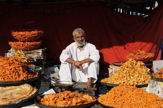 la vieille ville de Srinagar au Kashmir