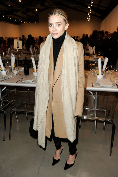 Le star fans della pashmina : ashley olsen pashmina