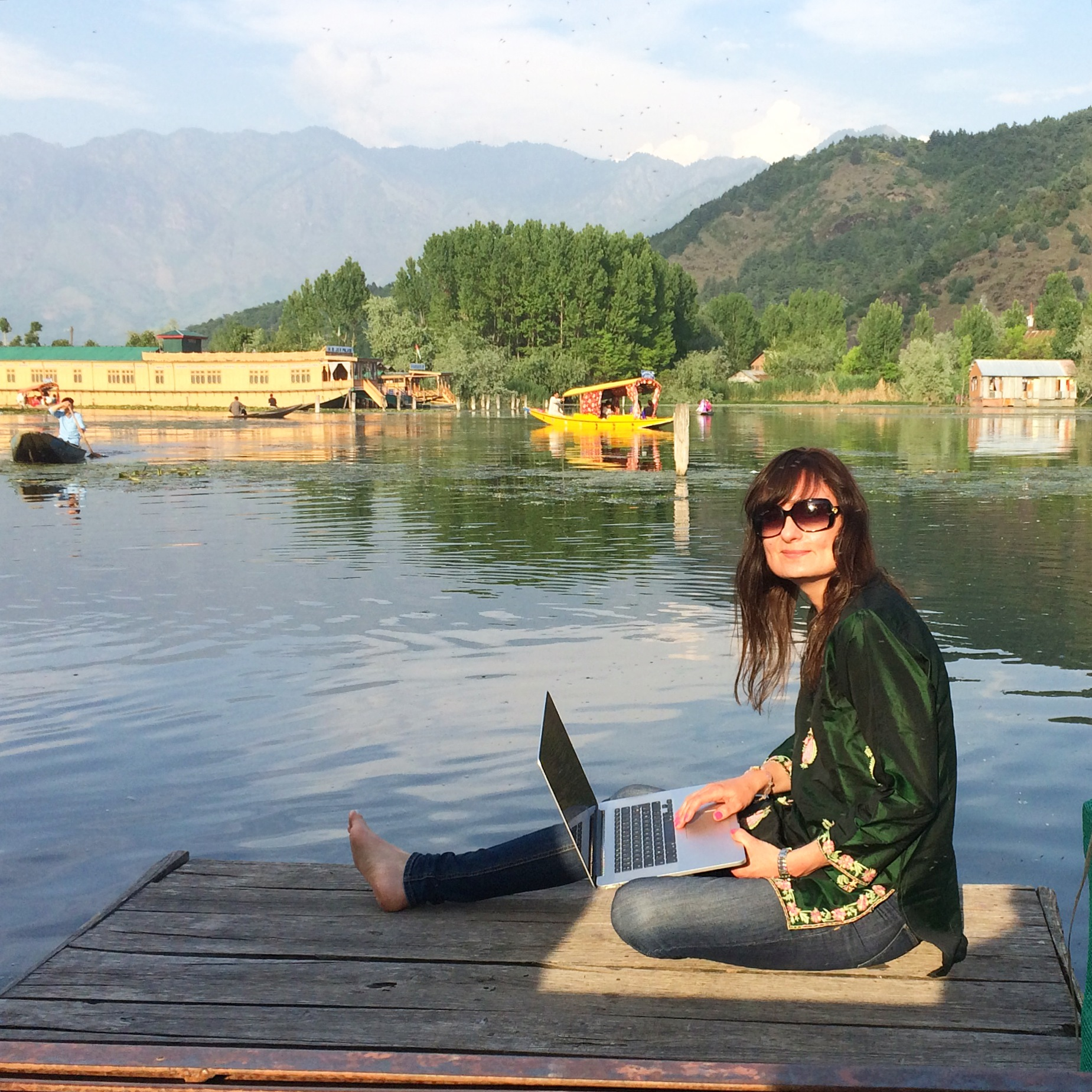Srinagar Dal lake