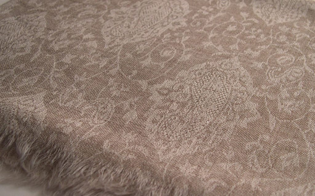 fake pashmina jacquard machinemade