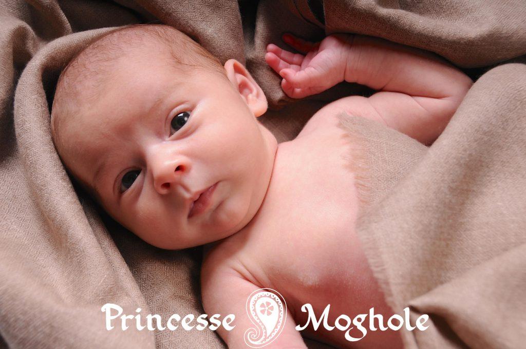 bébé pashmina couverture cachemire