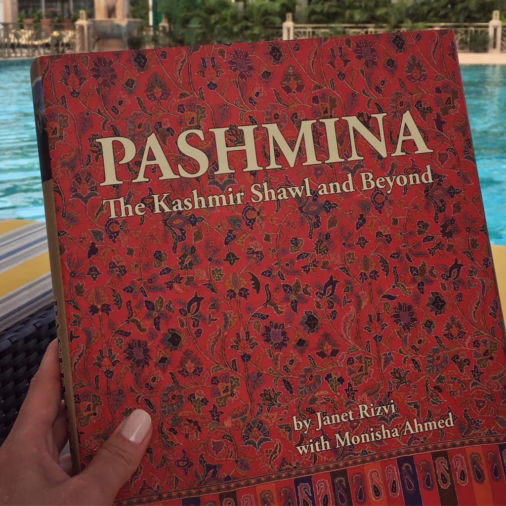 Pashmina, the kashmir shawl and beyond by janet rizvi