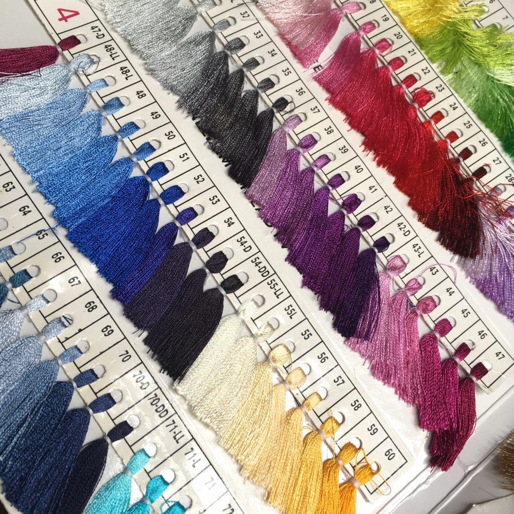 quelles couleurs pour le pashmina ikat ?