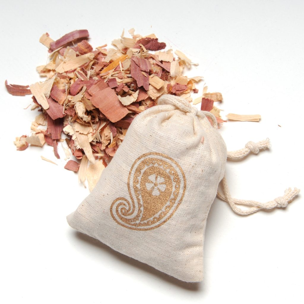 scented sachet for the dressing
