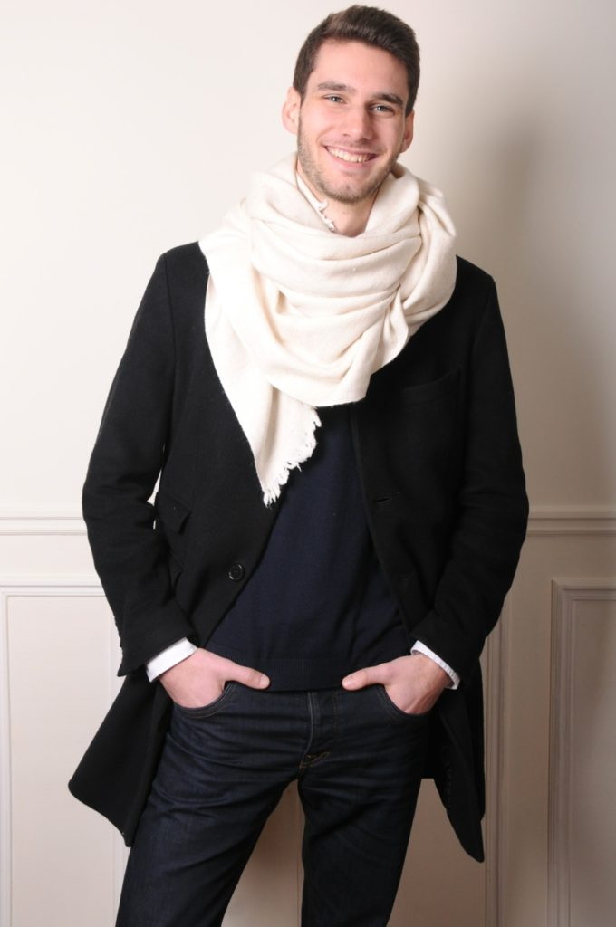the most natural : the organic men pashmina