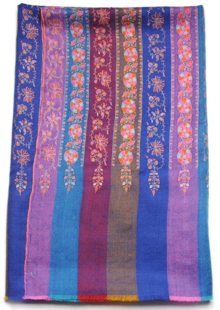 this is one of the new embroidered pashminas