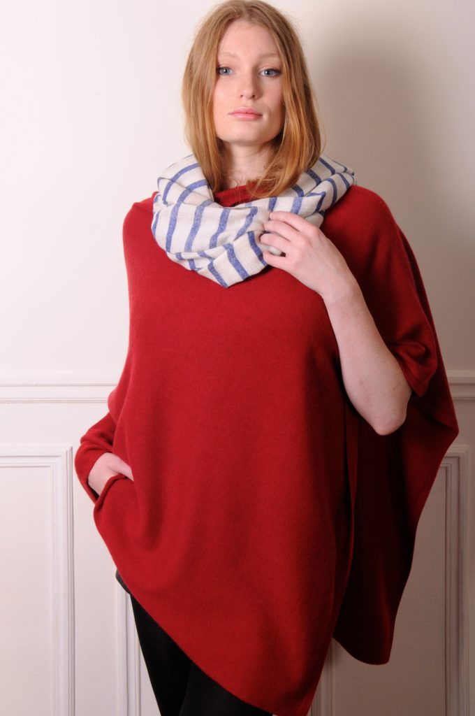 the breton stripes handwoven cashmere stole is the must have spring pashmina