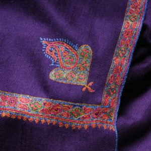 pashmina violet hashi dar