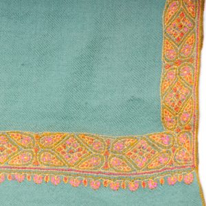embroidered pashmina neem dar